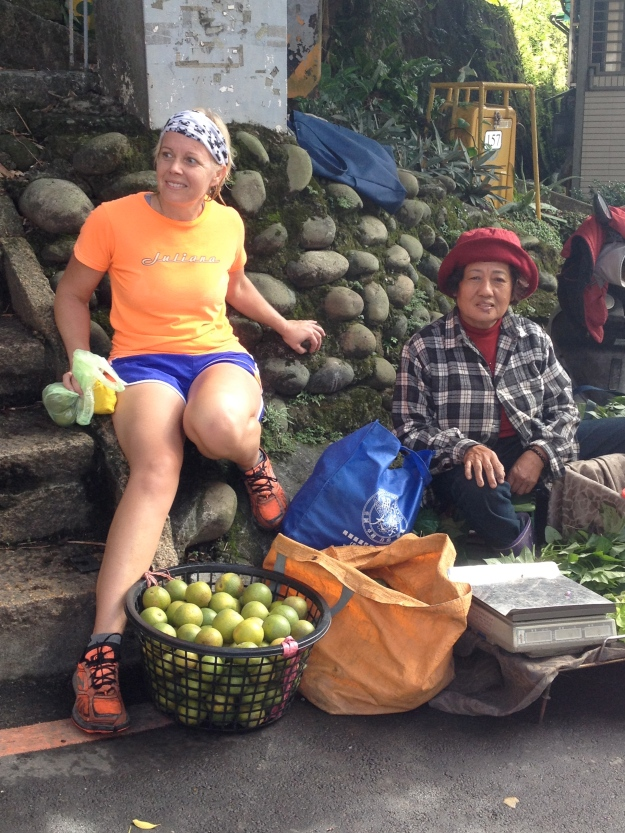 Language and food lessons from the locals, Taipei, Taiwan.