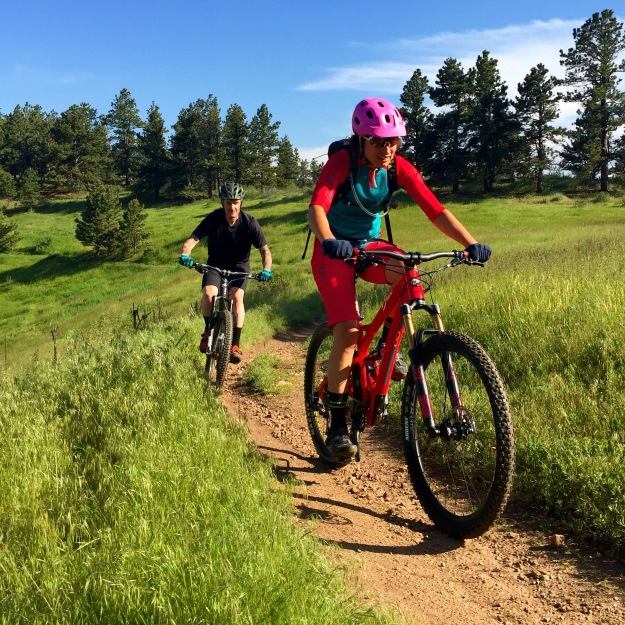 A quick trip to Colorado made for three weekends in a row of riding on amazing trails in my favorite places with fun people.